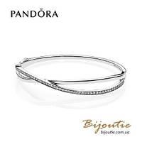 Pandora браслет СПЛЕТЕНИЕ #590533CZ серебро 925 Пандора оригинал