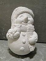 Гипсовые фигурки для раскрашивания статуетка Снеговик