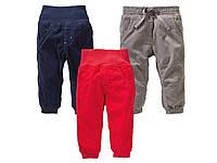 Вельветовые штаны для мальчиков и девочек LUPILU размеры 62-80