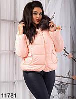Куртка  с  мехом  -  11781