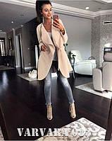Пальто с поясом 083-115