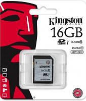 Карта памяти Kingston SDHC 16 GB G2 (CLASS 10) UHS-I