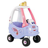 Детская машинка-каталка  «Cozy Couple Princess» Little Tikes - США - Управляется с помощью руля
