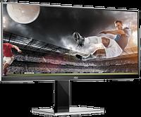 """LED-монитор AOC 34"""" u3477Pqu 21:9 WQHD IPS DP HDMI DVI MHL MM Blac"""