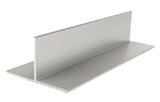 Т-образный алюминиевый профиль 50х80х2мм