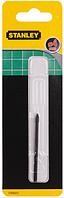 Сверло по плитке, стеклу Stanley d=4мм, 64мм.