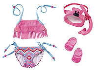 Купальник и маска для куклы Baby Born Zapf Creation 823750