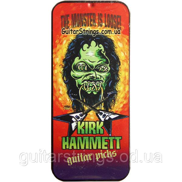 Медиаторы Dunlop KH01T088 Kirk Hammett Signature Monster Pick Tin 0.88 mm 6pcs