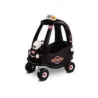 Детская машинка-каталка  «Такси» Little Tikes - США - с родительской ручкой
