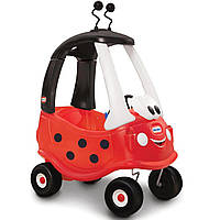 Детская машинка-каталка  Жучок «Cozy Coupe» Little Tikes - США - Задняя стенка машинки имеет отсеки