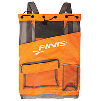 Сумка-рюкзак Finis Ultra Mesh Backpack Neon Orange/Gray 1.25.022.298 (США). Распродажа!
