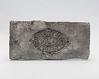 Декоративный кирпич с клеймом AD серый