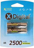 Аккумулятор X-Digital HR6 Ni-MH 2500mAh