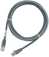 Кроссовый шнур Molex PC RJ45 568B UTP Stranded PC 5e LS0H 1m Grey