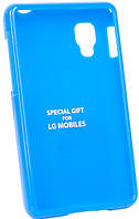 Чехол VOIA LG Optimus L4II Dual Jelly Blue