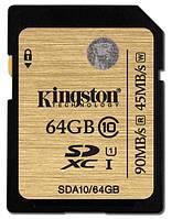 Карта памяти Kingston SDXC 64 GB Class 10 UHS-I Ultimate
