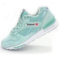 Женские кроссовки Reebok GL6000 биоюзовые (натуральная замша)