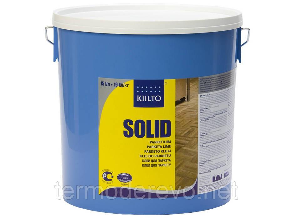 Клей дисперсионный 19кг. 1-К Kiilto (Финляндия) Solid