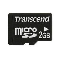 Карта памяти Transcend microSD 2 GB