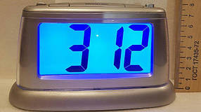 Настольные электронные часы с подсветкой Е-0057