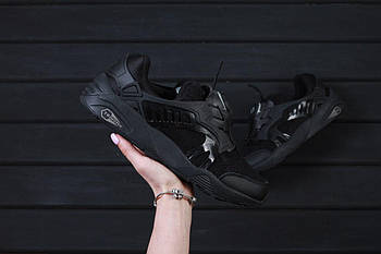 Мужские кроссовки Puma DISC BLAZE CT (Пума Диск) черные