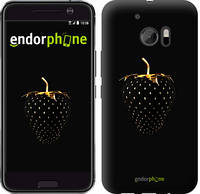 "Чехол на HTC 10 Черная клубника ""3585c-464-716"""