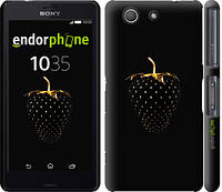 """Чехол на Sony Xperia Z3 Compact D5803 Черная клубника """"3585c-277-716"""""""