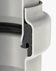 ACO PIPE Труба из нержавеющей стали AISI 304, DN 75, 1000 mm
