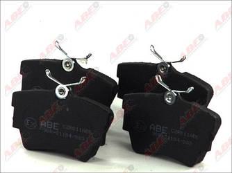 Гальмівні колодки задні на Renault Trafic 2001-> — ABE (Китай) - C2R011ABE