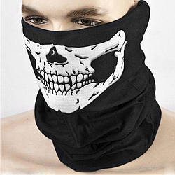 Бафф маска с рисунком черепа, Унисекс