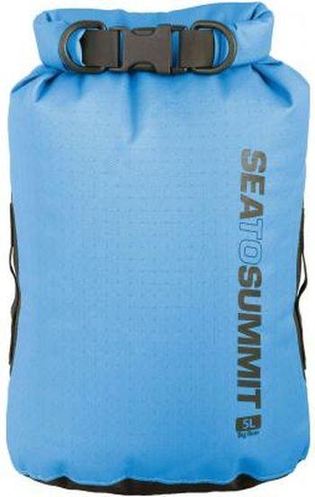 Синій гермочехол на 5 літрів Sea To Summit Big River Dry Bag 5 L Blue, STS ABRDB5BL, 11х17х39см.