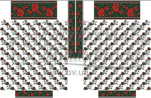Заготовка жіночої вишиванки під бісер (БЖ-128) від