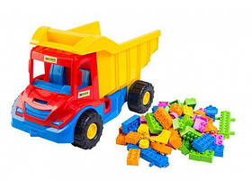 WADER Multi truck вантажівка з конструктором