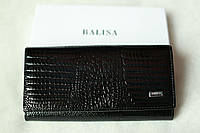 Женский кошелек кожаный цвет Черный Balisa