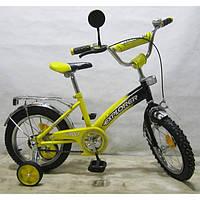 Детский Велосипед EXPLORER 14 T-21413 yellow + black KK