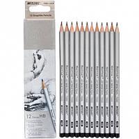Набор карандашей 12 шт. НВ Marco 7000/12