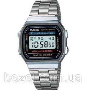Мужские часы Casio A-168WA-1 Касио японские кварцевые