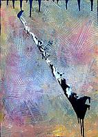 «Бумеранг» картина акрил