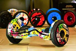 "Гироборды, гироскутеры Smart wheel 10"" + пульт+ сумка"