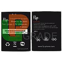 Аккумулятор акб батарея Fly BL8005 (iQ4512 Quad Evo Chic 4) 2000 mAh