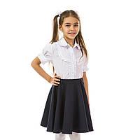 Рубашка для девочки с коротким рукавом