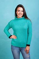 Вязанный модный свитер