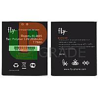 Аккумулятор акб батарея Fly BL8605 (FS502 Cirrus 1) 2050 mAh