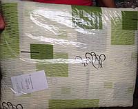 Постельное бельё из жатки зелёный