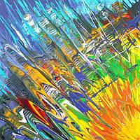 «Солнечный Нью-Йорк» картина акрил