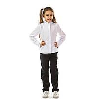Школьные брюки для девочки черные