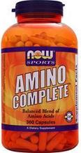 Аминокислоты, NOW Foods, Amino Complete, 360 caps