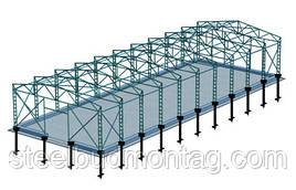 Строительство мясокомбинатов,фабрик,заводов.