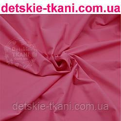 Ткань однотонная хлопковая Mist светло-малинового цвета ( № 882м)