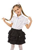 Школьная юбка для девочки черная